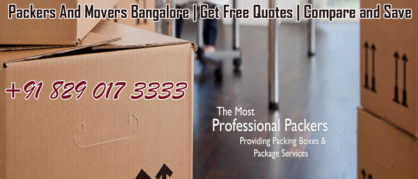 Packers And Movers Bnangalore Rate List Chart