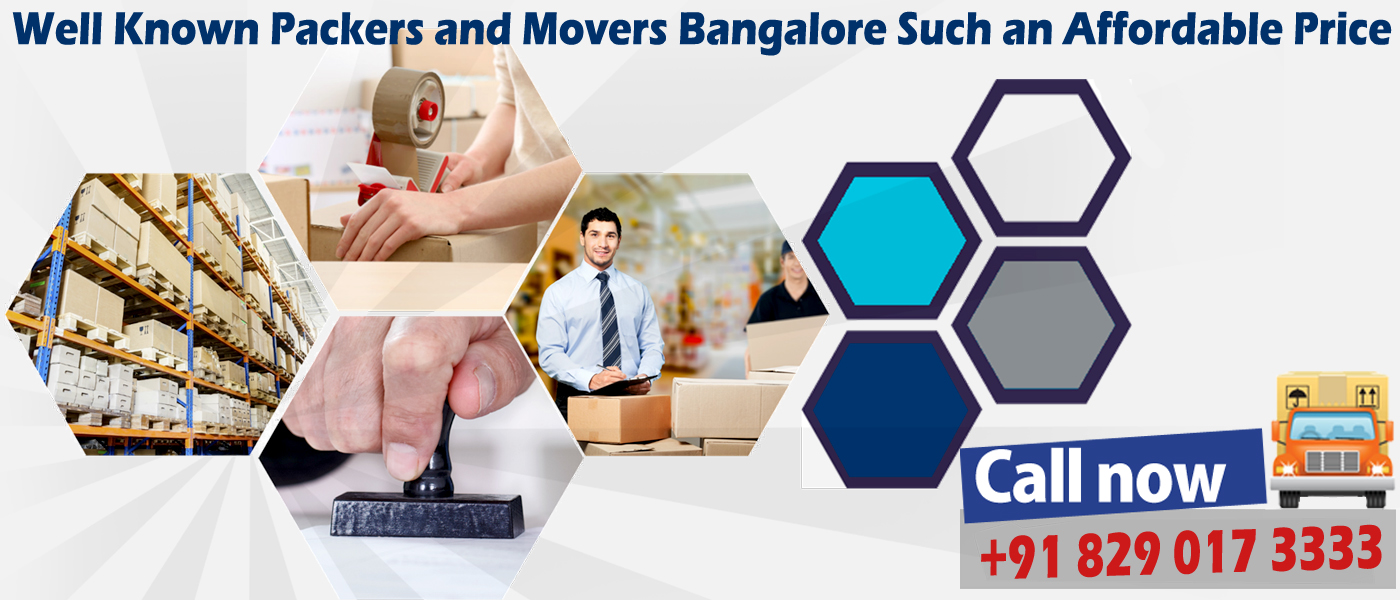 Packers and Movers Bangalore Shifting Services